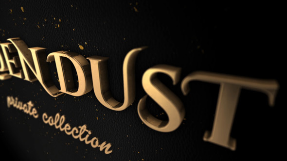 Golden Dust - Download Videohive 13985479