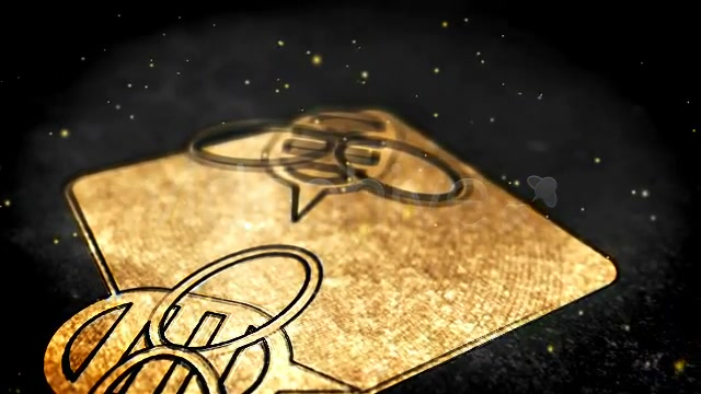 Golden Glamour Logo - Download Videohive 2055611