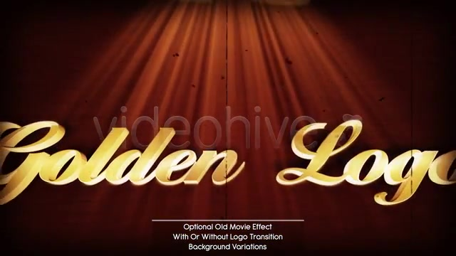 Golden Logo - Download Videohive 593309