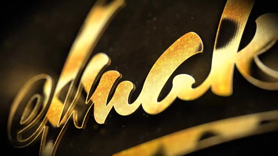 Golden Logo - Download Videohive 9331620