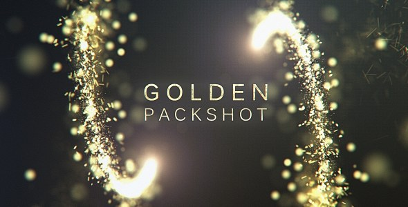 Golden Packshot - Download Videohive 17307968