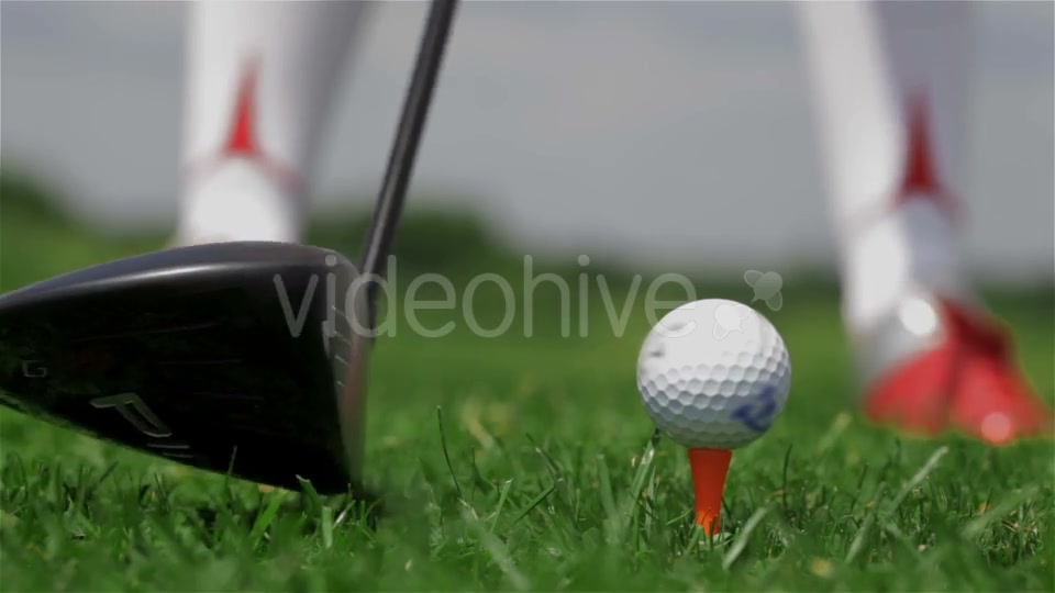 Golf Player Makes a Tee Shot - Download Videohive 18357391