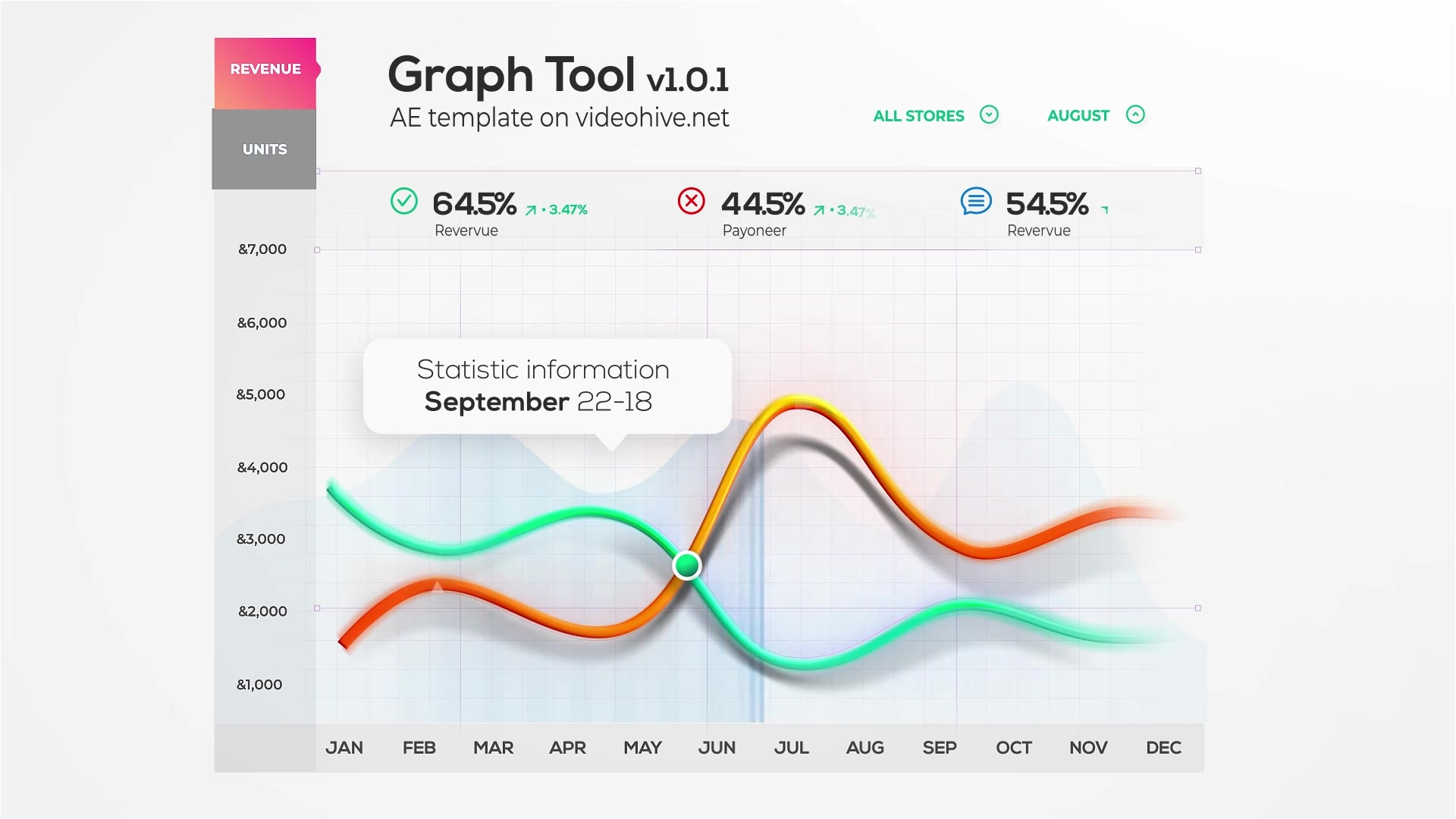 Graph Tool | Infographics Сharts Bundle Videohive 29124362 After Effects Image 5