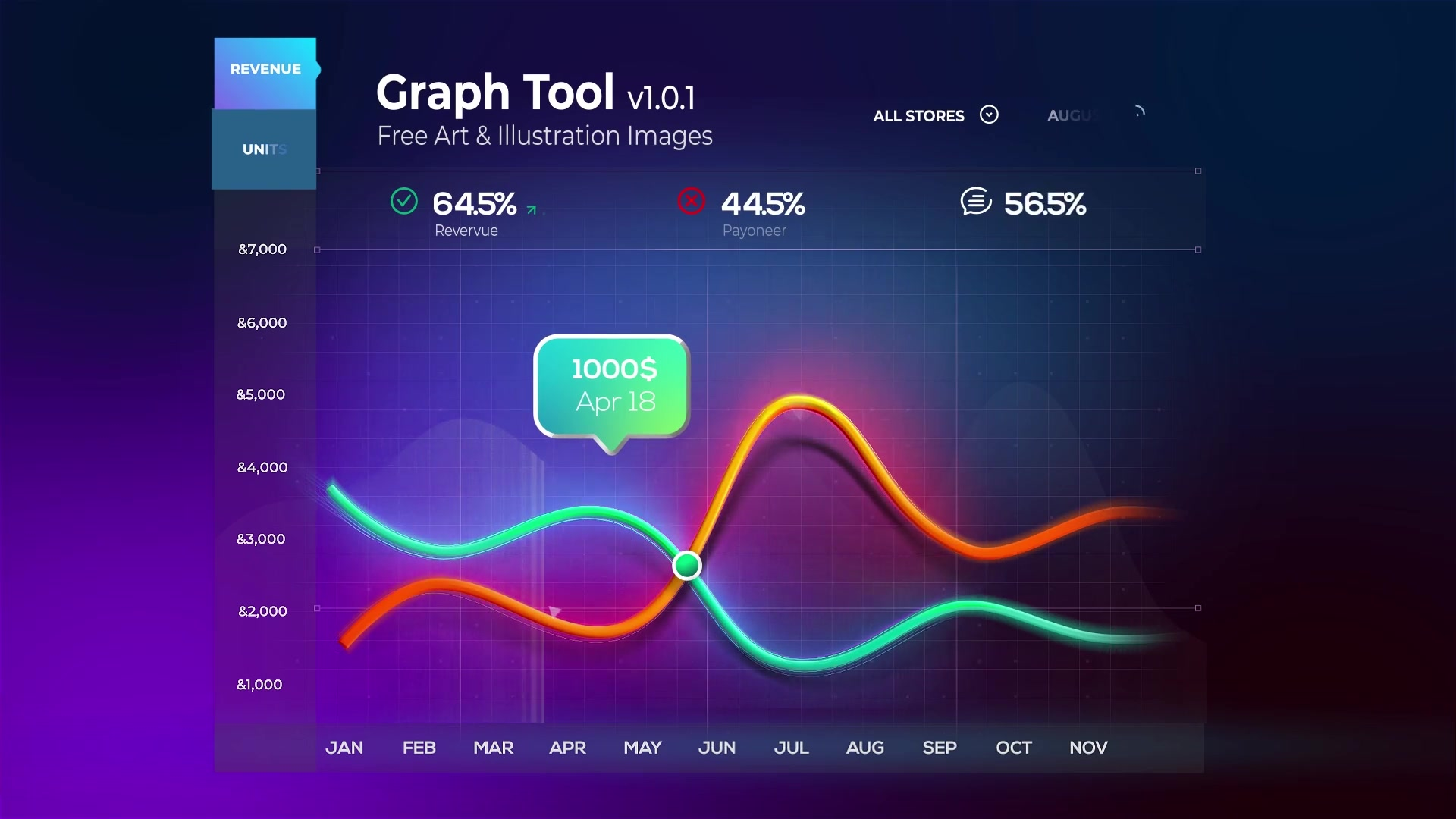 Graph Tool | Infographics Сharts Bundle Videohive 29124362 After Effects Image 9