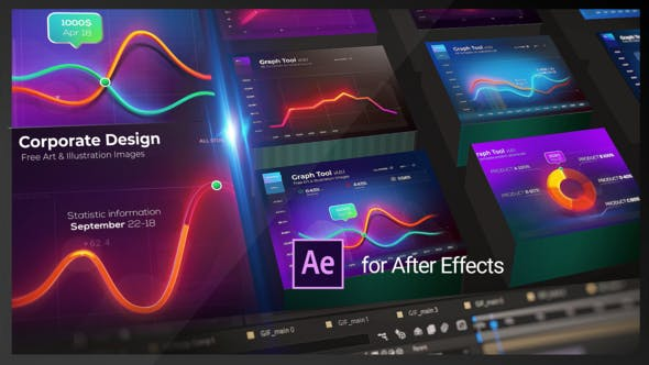 Graph Tool | Infographics Сharts Bundle - Videohive Download 29124362