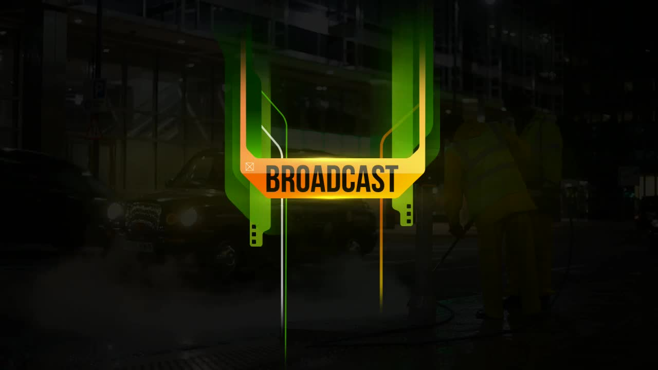 Green Orange Broadcast Package - Download Videohive 6542201