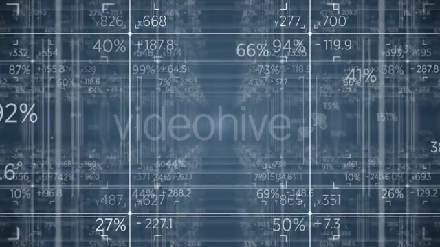 Grid Matrix of Numbers - Download Videohive 17662171