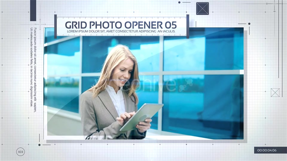 Grid Photo Opener Corporate Slideshow - Download Videohive 17475541