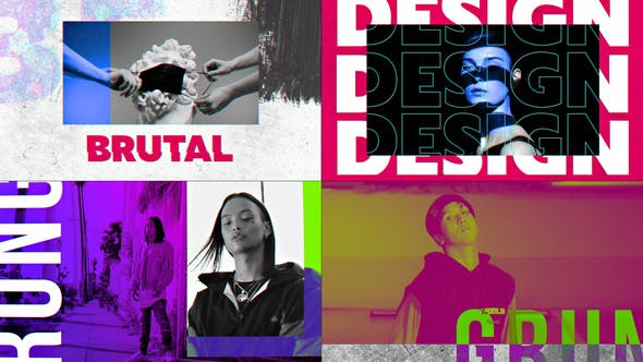 Grunge Color Opener - Download 30495914 Videohive