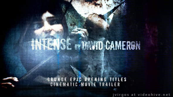 Grunge Epic Opening Titles Cinematic Movie Trailer - Download Videohive 4880289