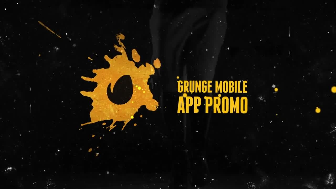 Grunge Mobile App Promo - Download Videohive 13310779