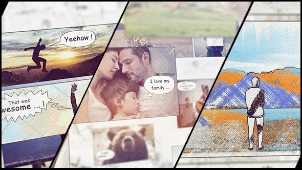 Hand Drawn Family Holiday Slideshow - Download Videohive 12894168