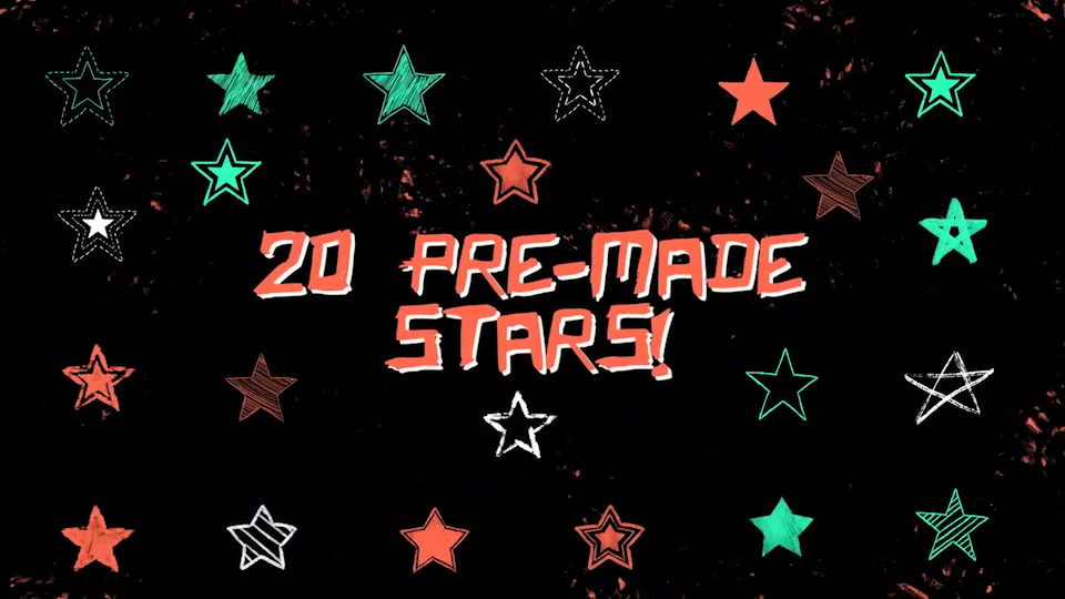 Hand Drawn Stars - Download Videohive 20627906