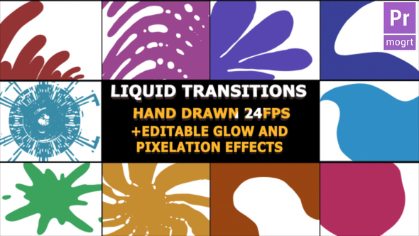Hand Drawn Transitions - Download Videohive 22879220