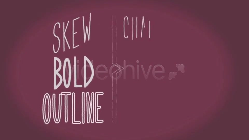 Handwritten Animated Font Slide Show - Download Videohive 3163885