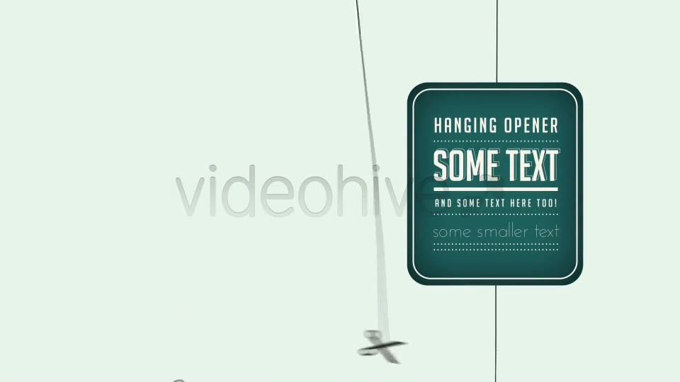 Hanging Opener - Download Videohive 4285382