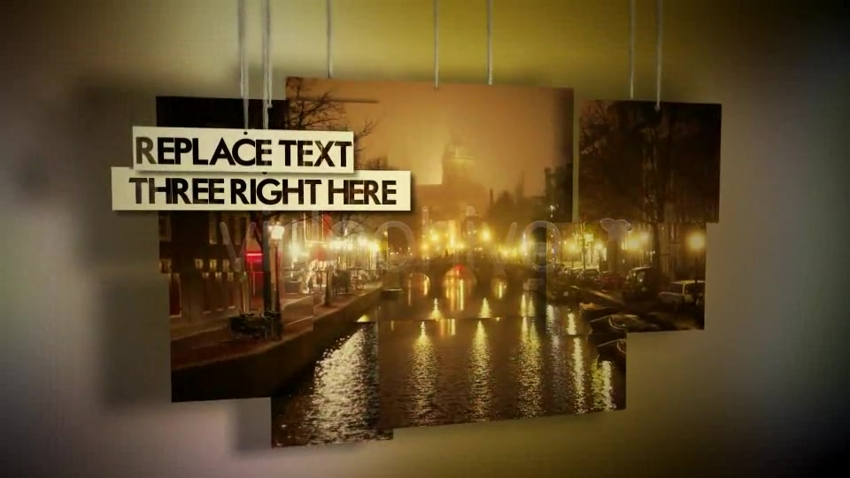 Hanging Photos Montage Videohive 234550 After Effects Image 4