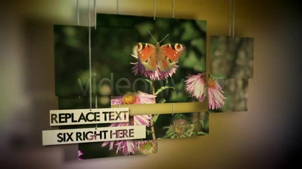 Hanging Photos Montage Videohive 234550 After Effects Image 6
