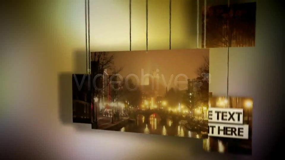 Hanging Photos Montage Videohive 234550 After Effects Image 7