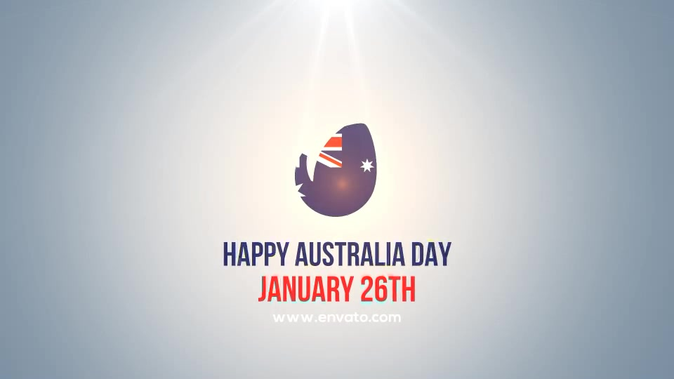 Happy Australia Day Logo - Download Videohive 19332746