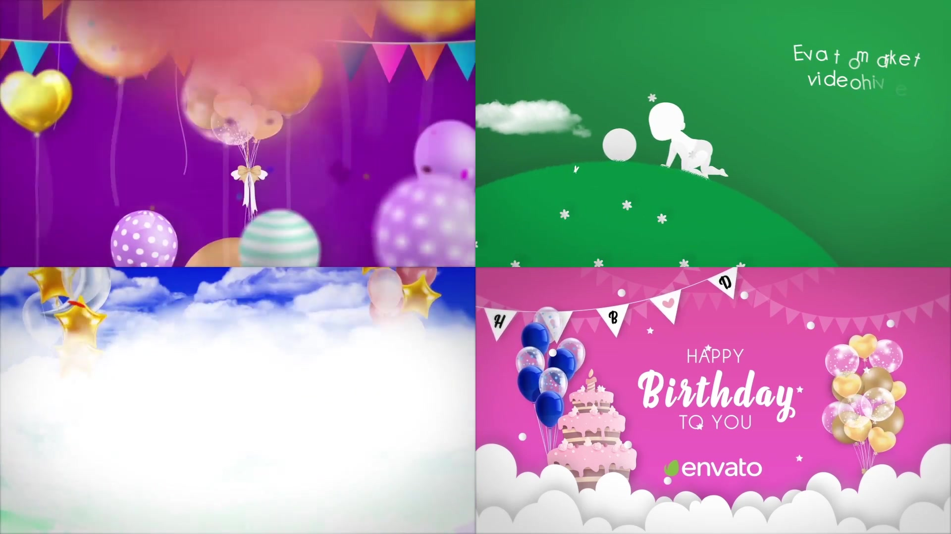 Happy Birthday Opener Videohive 31642133 After Effects Image 12