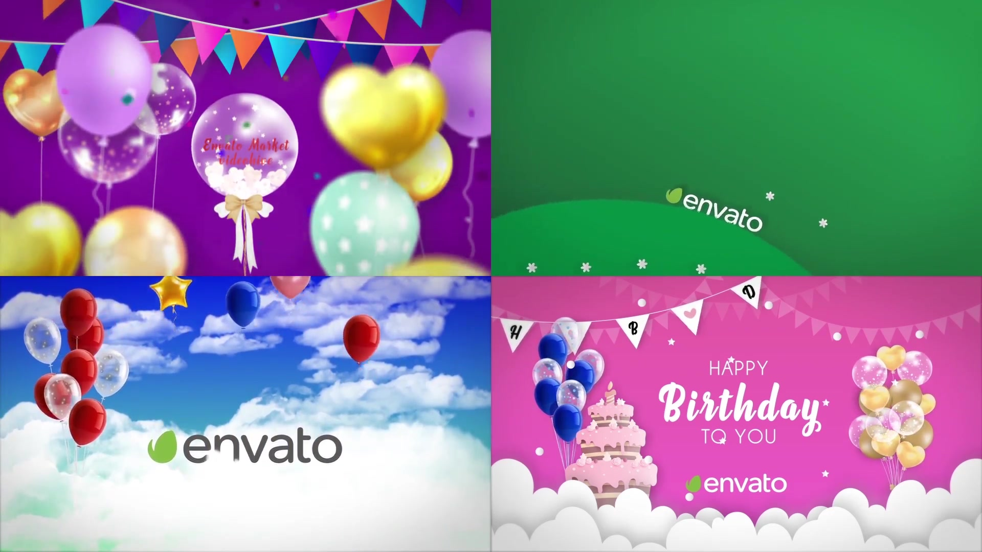 Happy Birthday Opener Videohive 31642133 After Effects Image 13