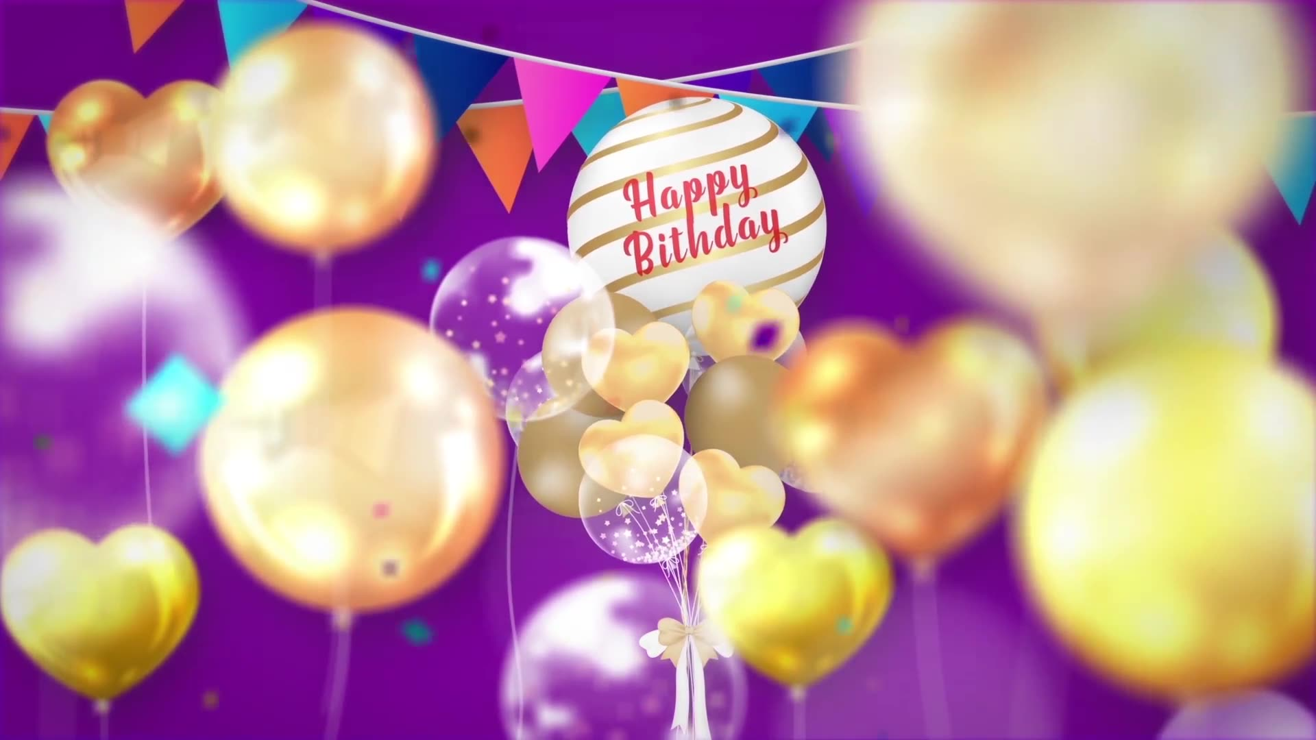 Happy Birthday Opener Videohive 31642133 After Effects Image 3