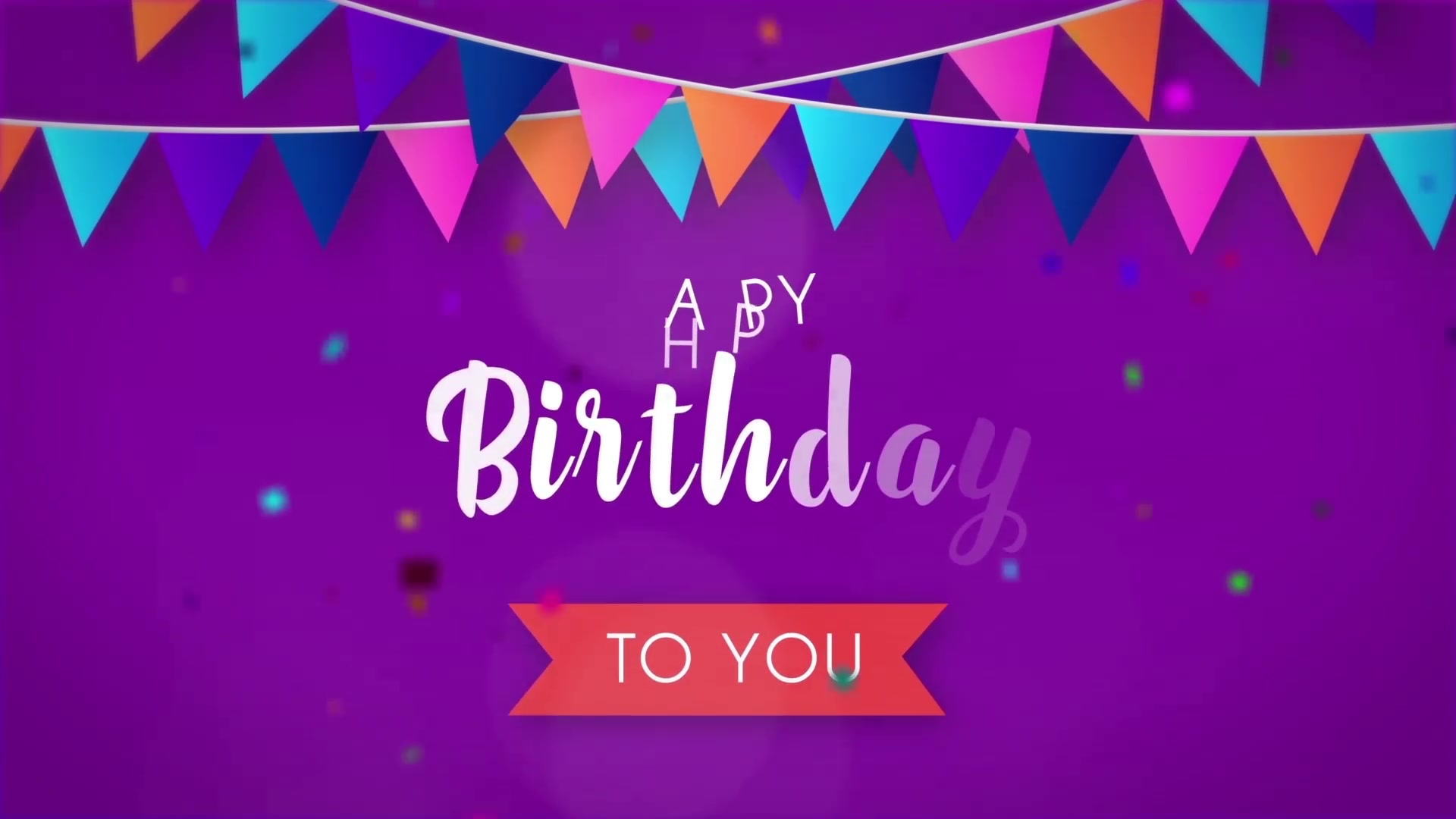 Happy Birthday Opener Videohive 31642133 After Effects Image 5