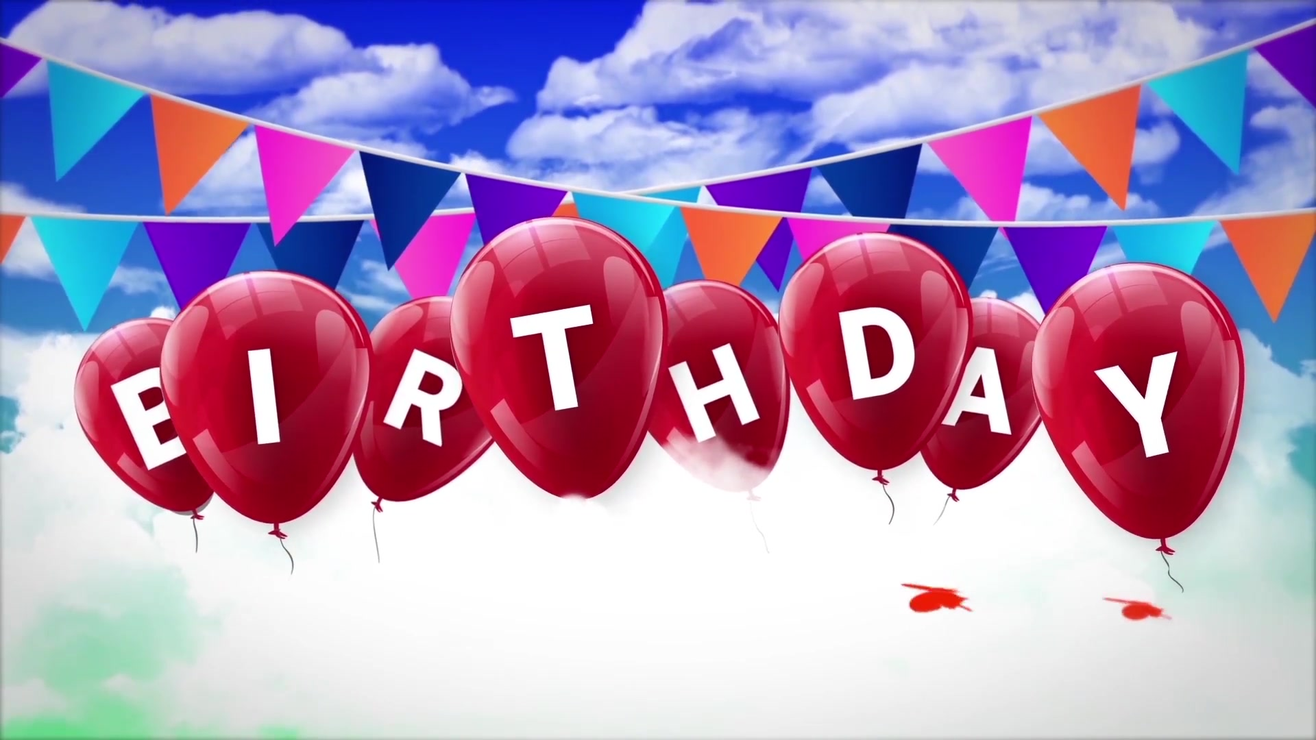 Happy Birthday Opener Videohive 31642133 After Effects Image 6