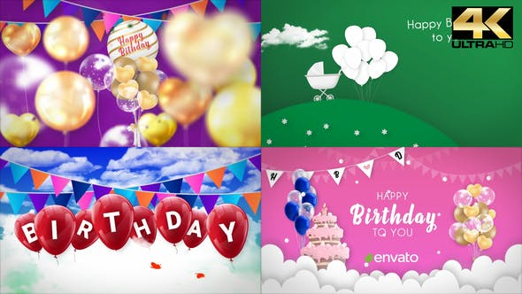 Happy Birthday Opener - Videohive Download 31642133