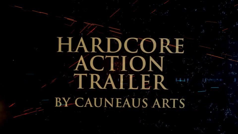 Hardcore Action Trailer - Download Videohive 19319437