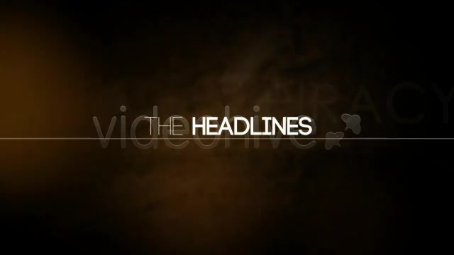 Headlines Videohive 2973228 After Effects Image 11