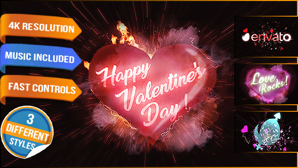 Heart Love Logo - Download Videohive 19332006