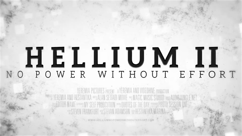 Helium Cinematic Trailer - Download Videohive 17182297
