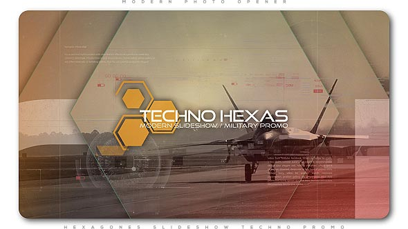 Hexagones Opener Techno Promo - Download Videohive 20940209