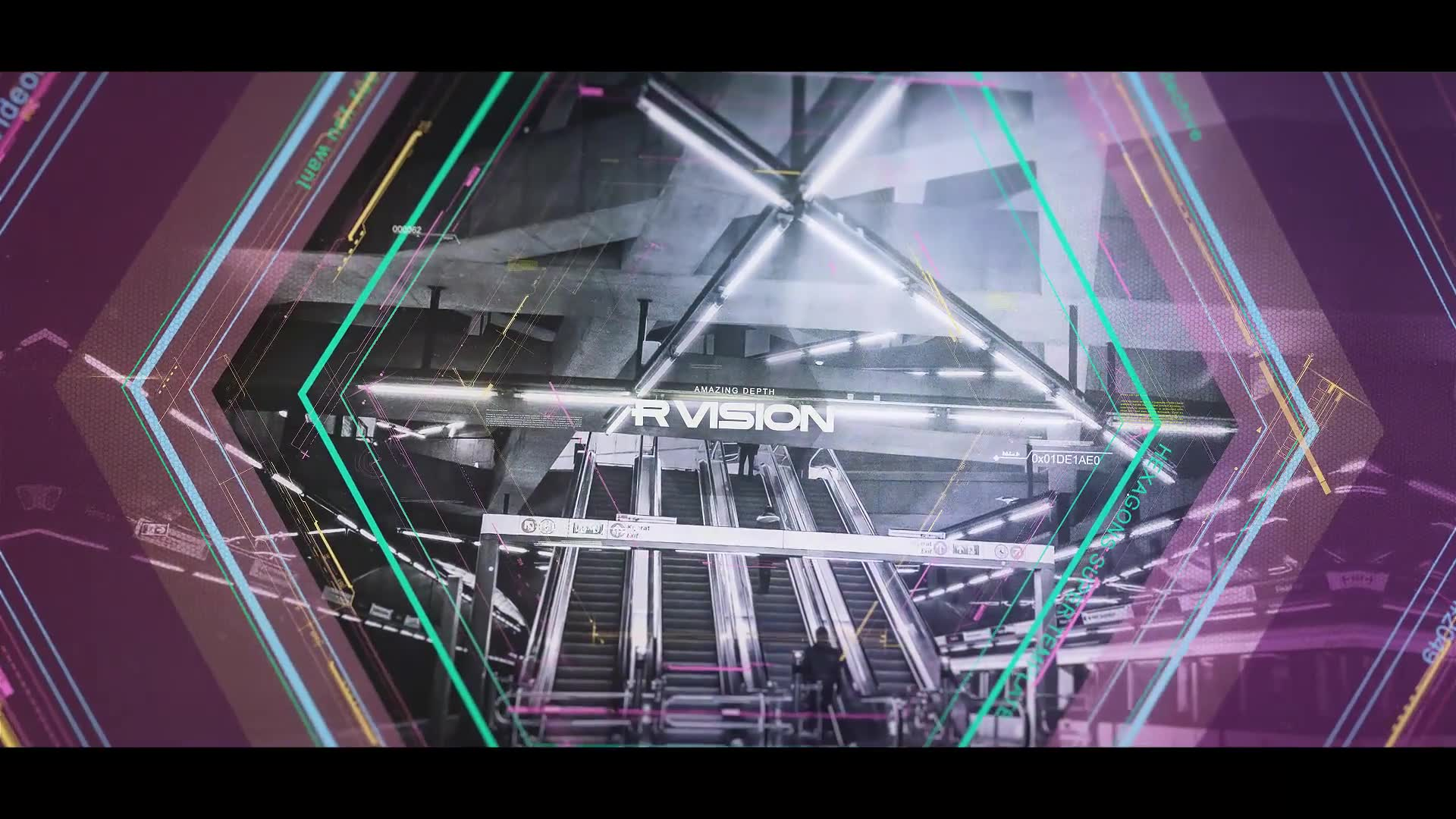 Hexagons Accept Digital Opener - Download Videohive 21228531