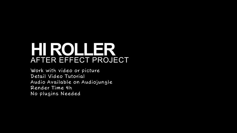 Hi Roller - Download Videohive 6385815