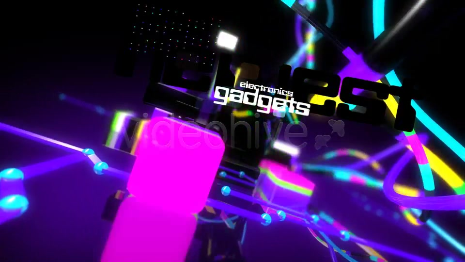 Hi tech color cubes - Download Videohive 2245159