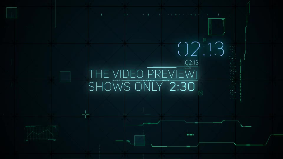 Hi Tech Glitches (Countdown and Titles) - Download Videohive 21994356