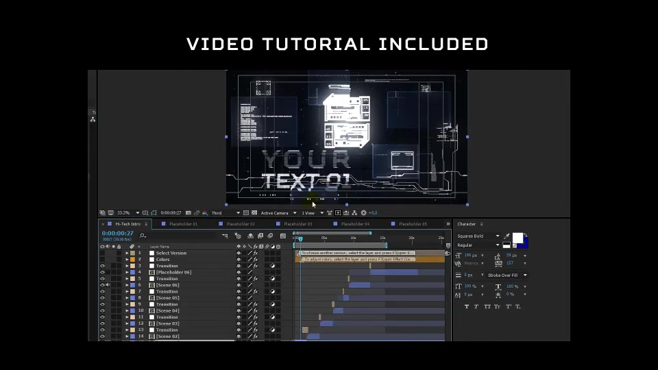 Hi Tech Intro - Download Videohive 17923283