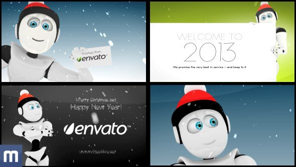 High End Greeting Card - Download Videohive 3668577