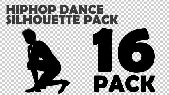 Hiphop Silhouettes Big Pack - Download Videohive 19756390