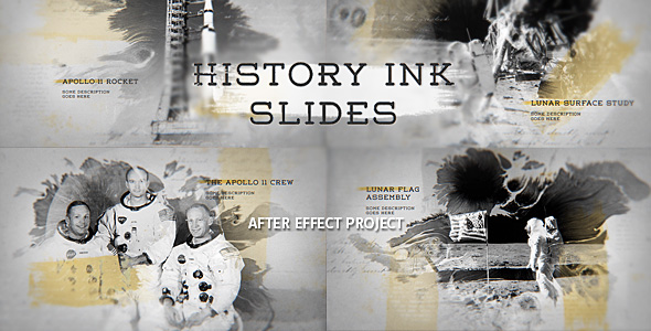 History Ink Slides - Download Videohive 19152412