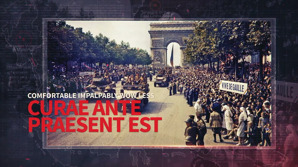 History Opener // Conflict Zones - Download Videohive 21568691