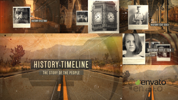 History Timeline Opener - Download Videohive 19460357