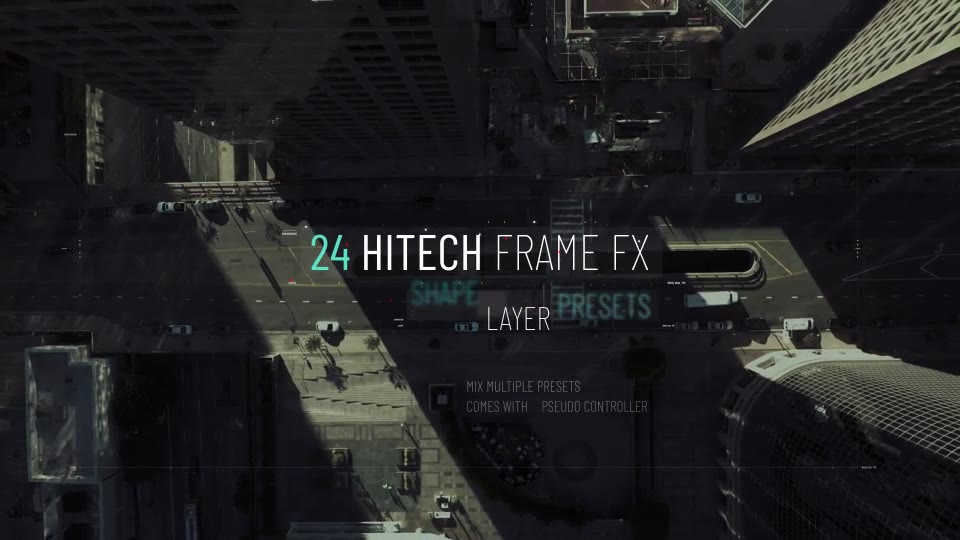 Hitech Text + Frame Presets Videohive 28185984 After Effects Image 2