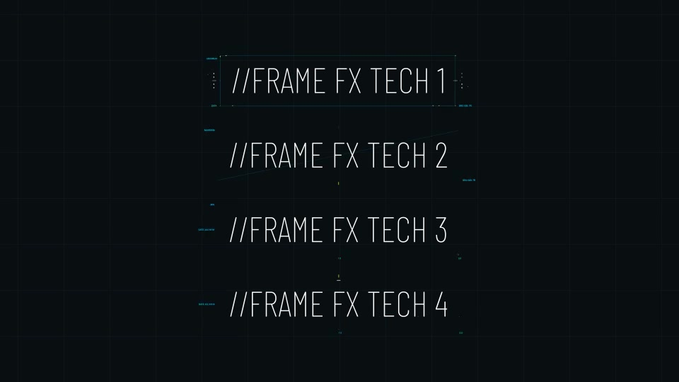 Hitech Text + Frame Presets Videohive 28185984 After Effects Image 4