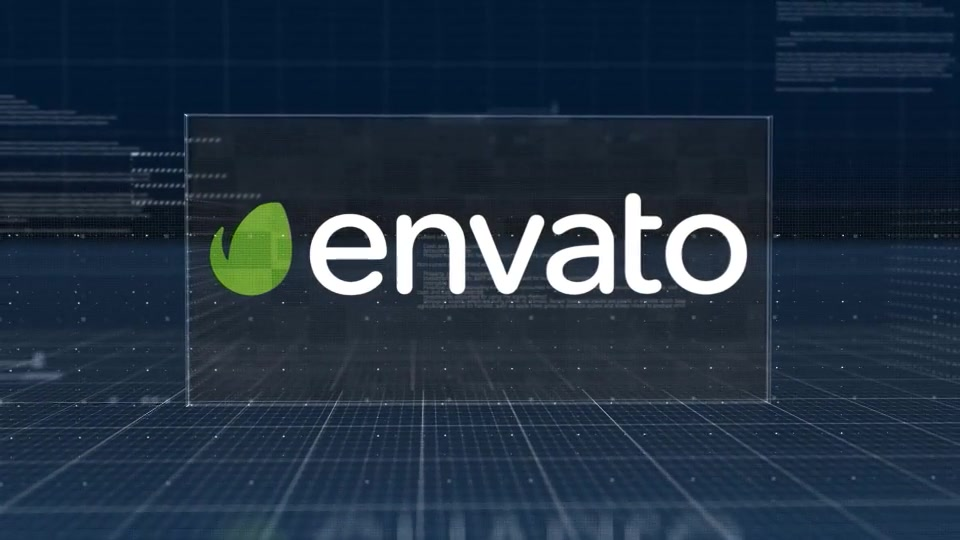 Holographic Corporate Logo Reveal - Download Videohive 11043326