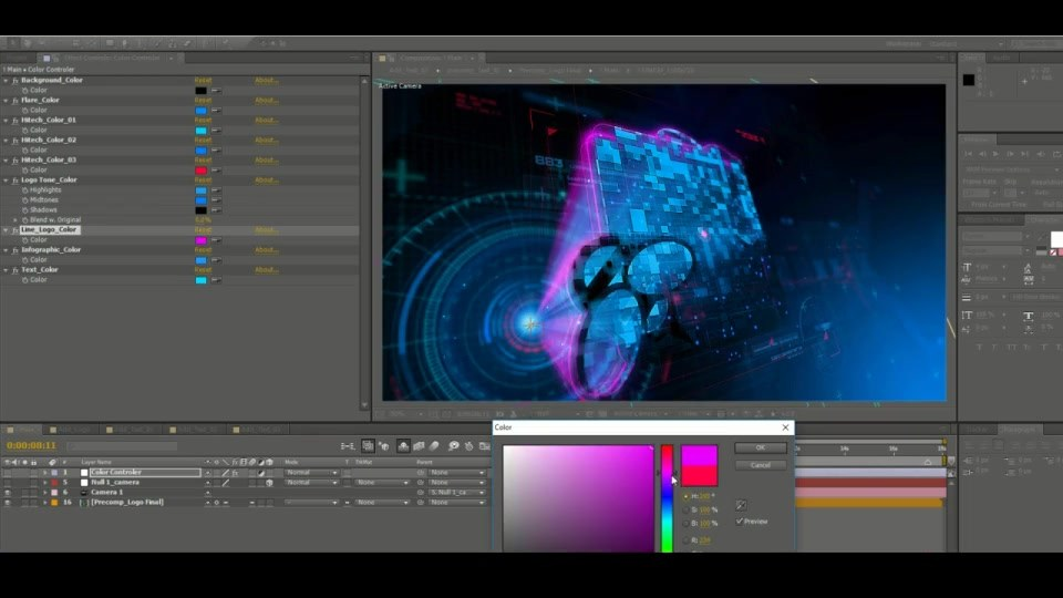 Holographic Logo - Download Videohive 19581817