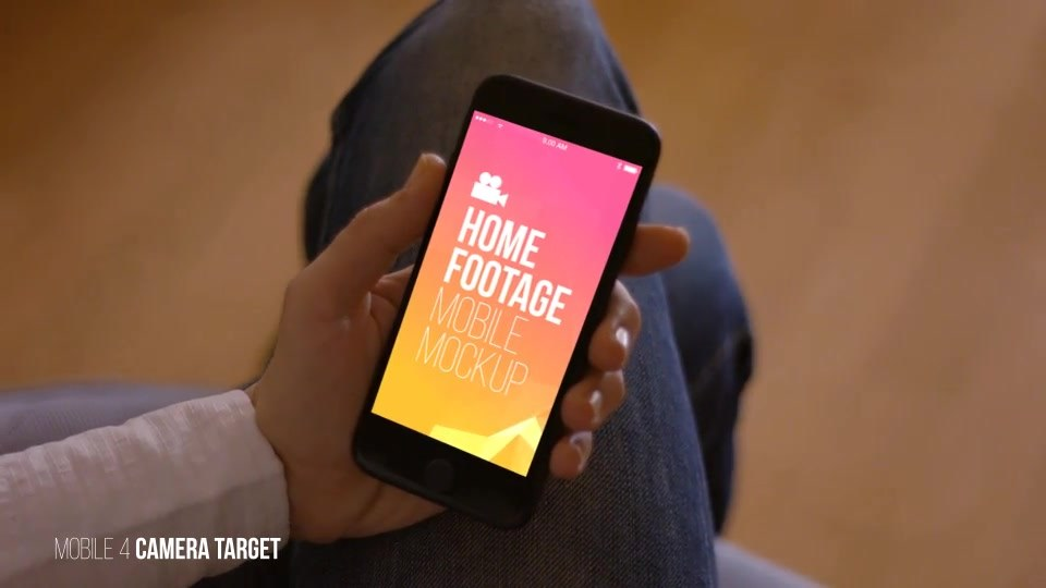 Home Footage Mobile Mockup - Download Videohive 19169905